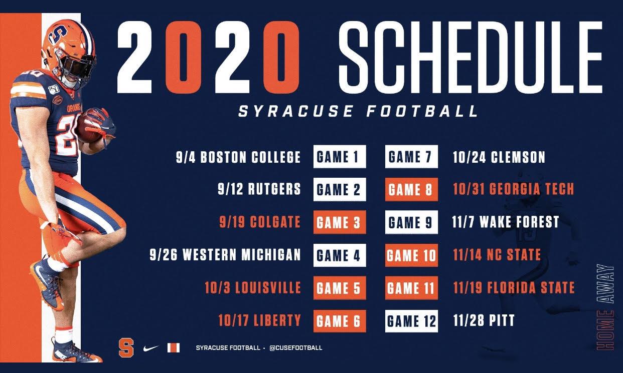 2020 georgia football schedule